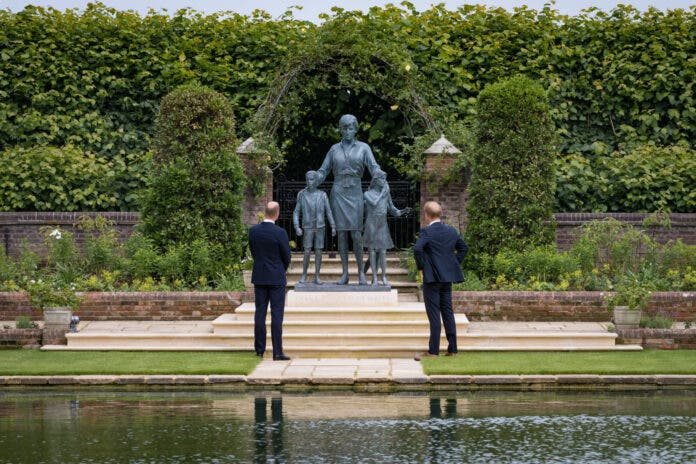 Statue Honouring Princess Diana on What Would've Been Her 60th Birthday