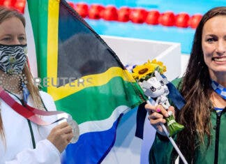 Bianca Buitendag and Tatjana Schoenmaker wins silver at Tokyo Olympics