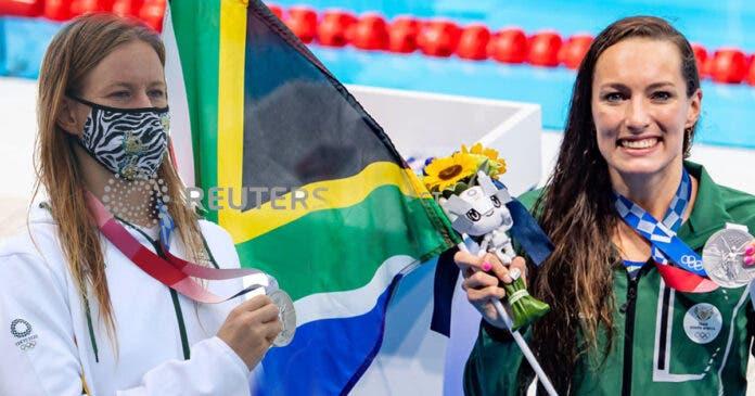 Bianca Buitendag and Tatjana Schoenmaker wins silver at Tokyo Olympics fundraisers