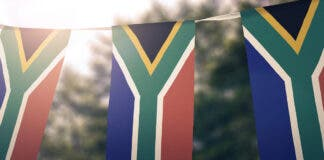 South African clean up