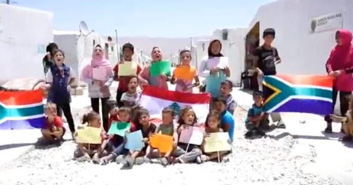 WATCH Syrian Refugee Children's Message of Hope for South Africa