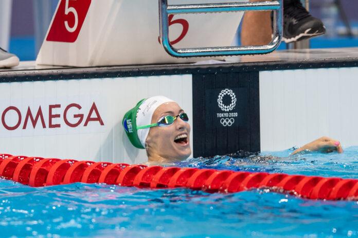 Tatjana Schoenmaker Olympic record South Africa swimmer