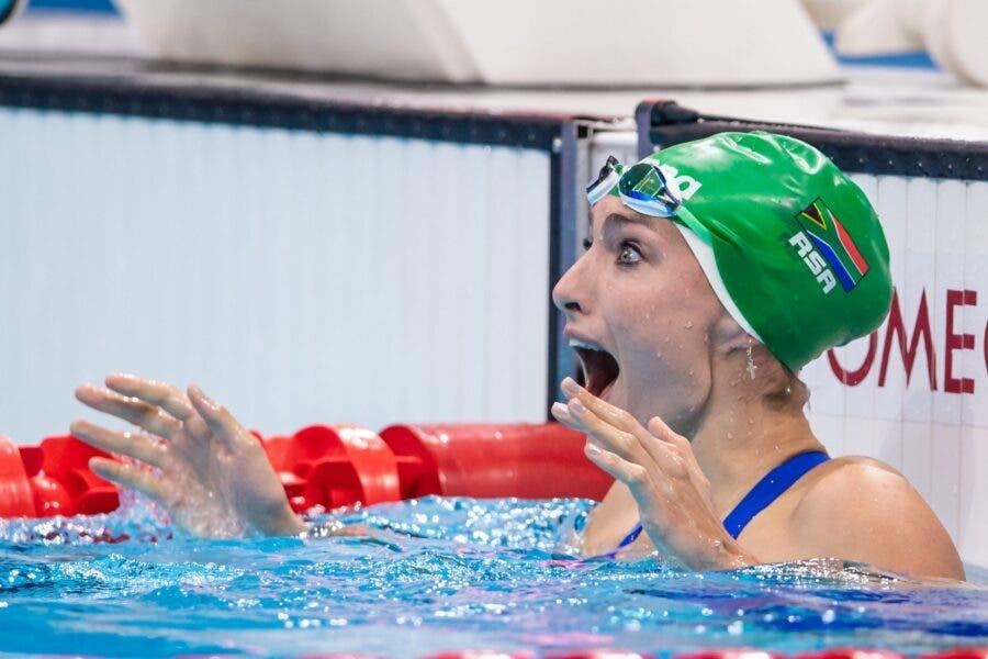 Tatjana Schoenmaker wins gold Olympics world record