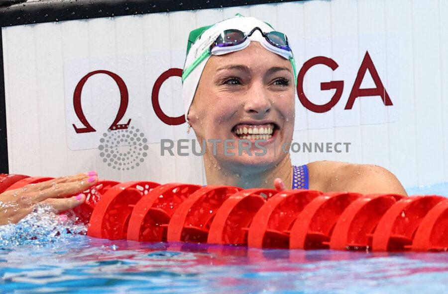 Swimming - Women's 100m Breaststroke - Heats