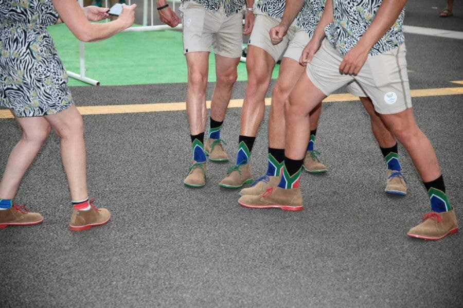 Team SA Olympics Mr Price Veldskoen shoes