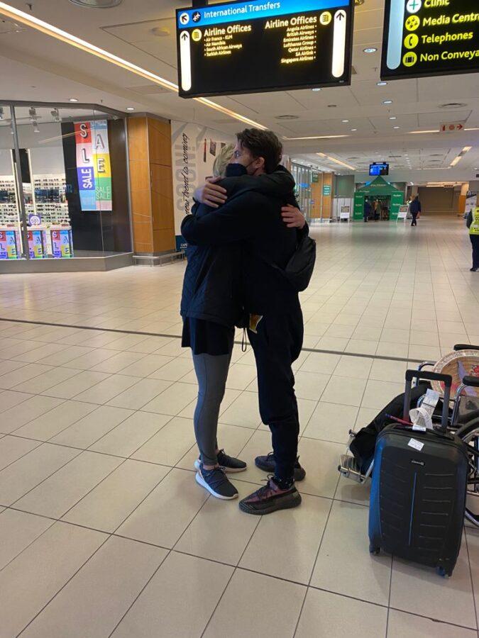 SA teacher in Vietnam Dale Benson arrives in South Africa.