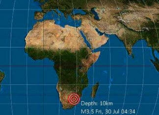 Earthquake 'Shakes' Boksburg and Areas Around Johannesburg, South Africa