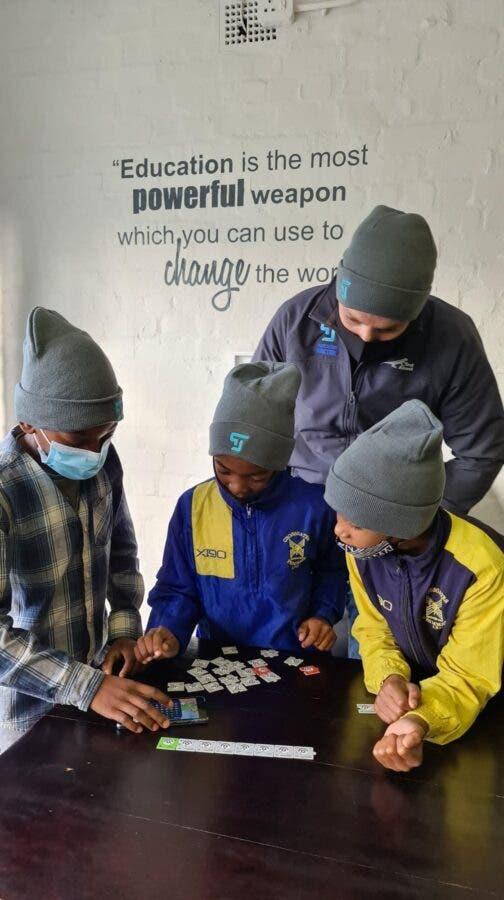 Nelson Mandela Uni Choir's Asimbonanga as Students Help Learners to Code