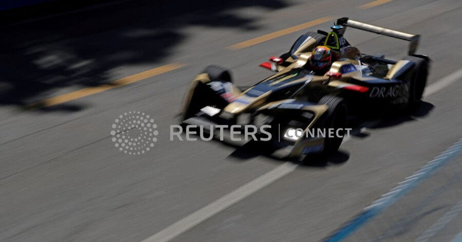 FILE PHOTO: Motor Racing - Formula E - Zurich E-Prix - Zurich, Switzerland - June 10, 2018. TECHEETAH's Jean-Eric Vergne during practice. REUTERS/Moritz Hager/File Photo