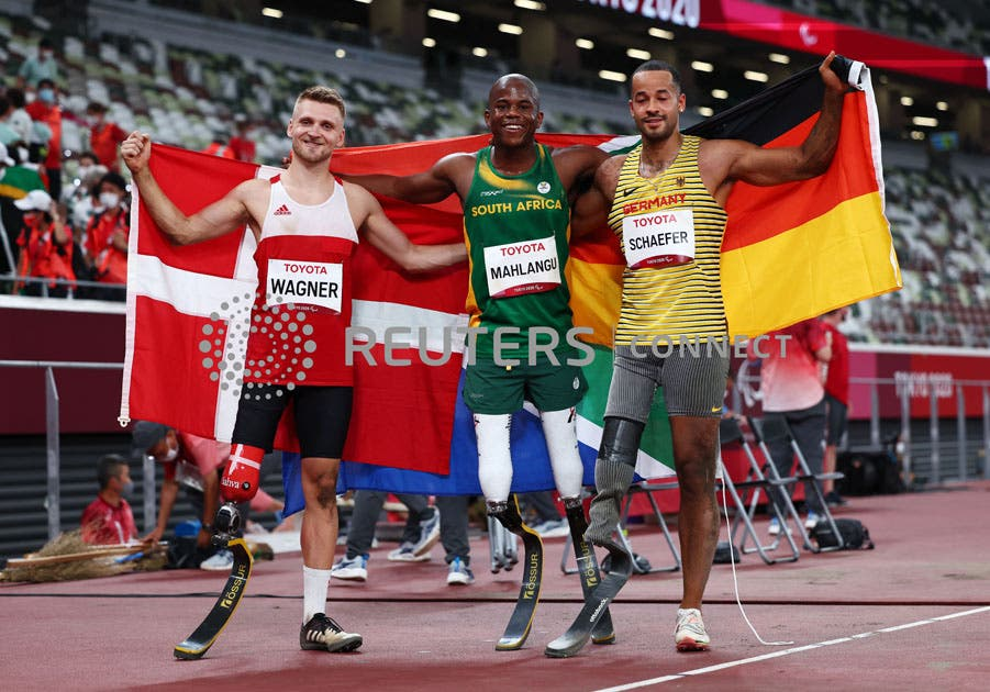 Ntando Mahlangu Scoops Gold and Breaks World Record at Tokyo Paralympics