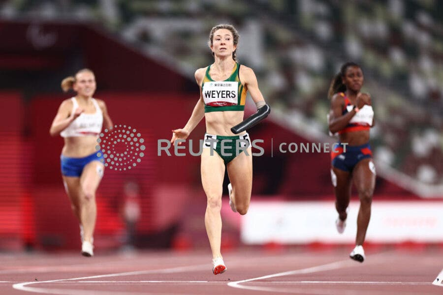 Anrune Weyers South Africa gold medallist Paralympics