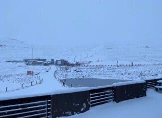 Snow Africa Lesotho Afriski