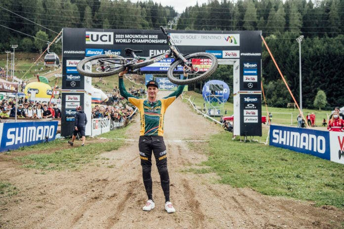 Greg Minnaar World Champion South African rider