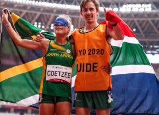Louzanne Coetzee wins Silver for South Africa at the Tokyo Paralympics