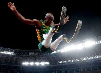 Ntando Mahlangu South Africa gold medallist Paralympics