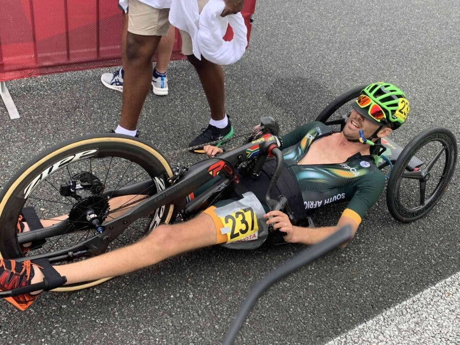 Pieter du Preez wins gold for South Africa at the Tokyo Olympics