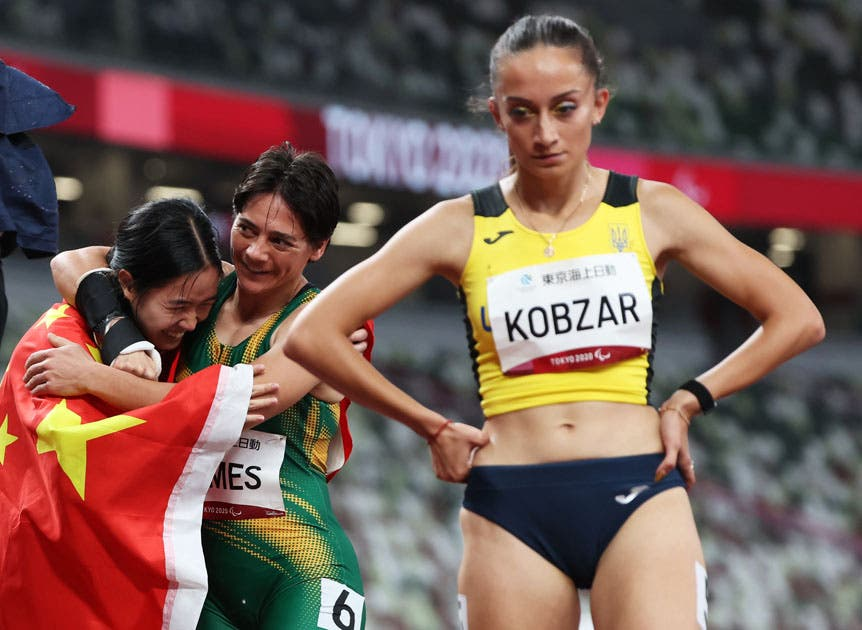 Sheryl James Bronze South Africa Tokyo Paralympics