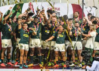 Springboks win Lions series