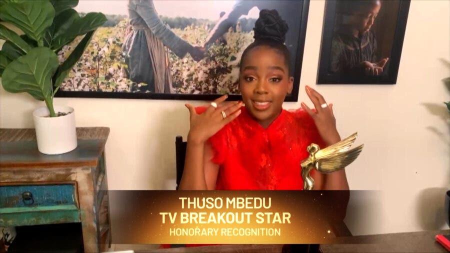 Thuso Mbedu wins award