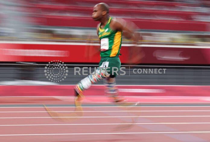 Ntando Mahlangu wins paralympic gold Tokyo