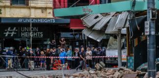 Melbourne earthquake Australia