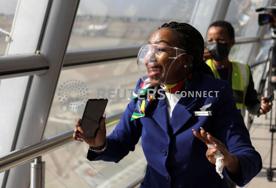 SAA first flight