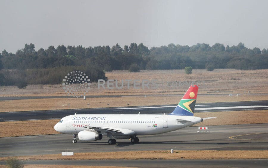 SAA first flight OR Tambo