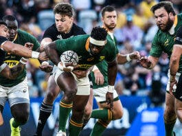 Siya Kolisi led from the front and put in a brilliant performance in Townsville.