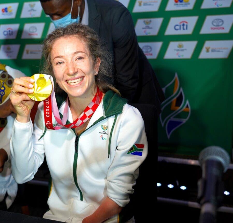 Anrune Weyers gold medal