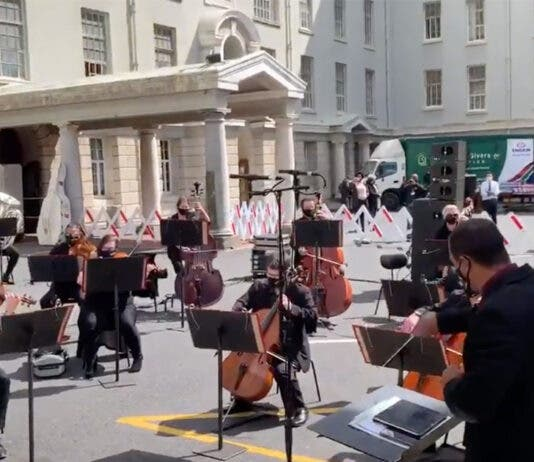Cape Town Philharmonic Orchestra Groote Schuur concert of Gratitude