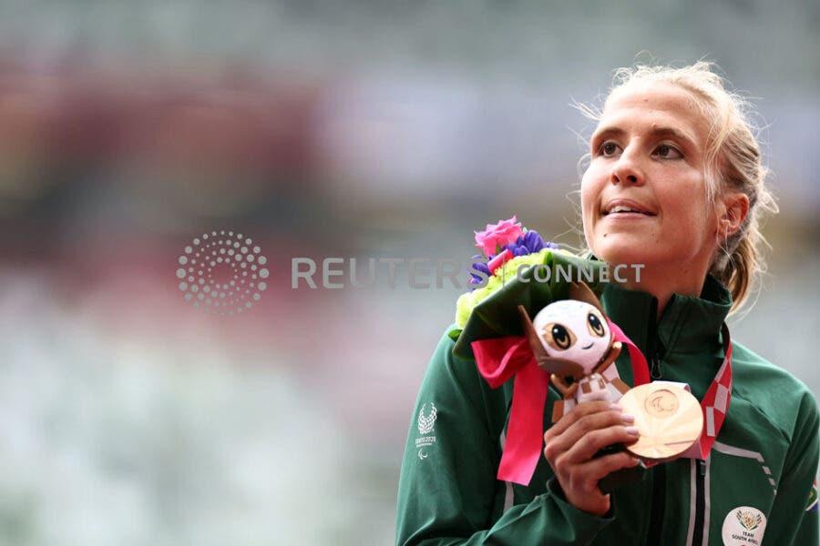 Louzanne Coetzee Tokyo Paralympics last medal