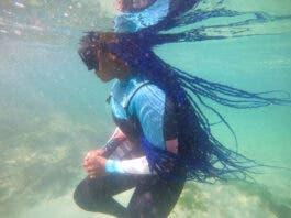 Zandi the Mermaid, Black Mermaid FouZandi the Mermaid, Black Mermaid Foundation South Africa ndation South Africa