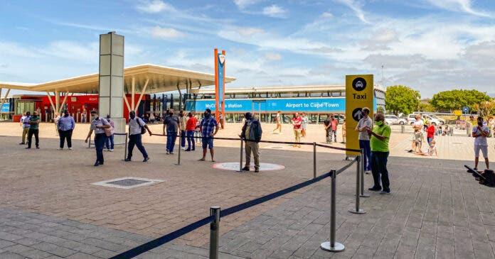 Cape Town International Airport surge