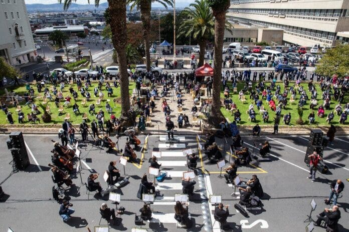 Cape Town's iconic hospital has borne the brunt of the city's Covid-19 pandemic.