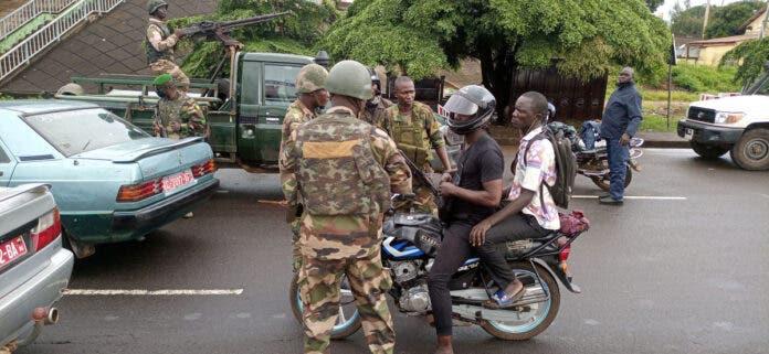 South Africa statement Guinea coup d'eta