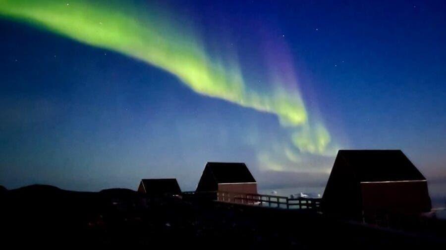 northern lights greenland lewis pugh