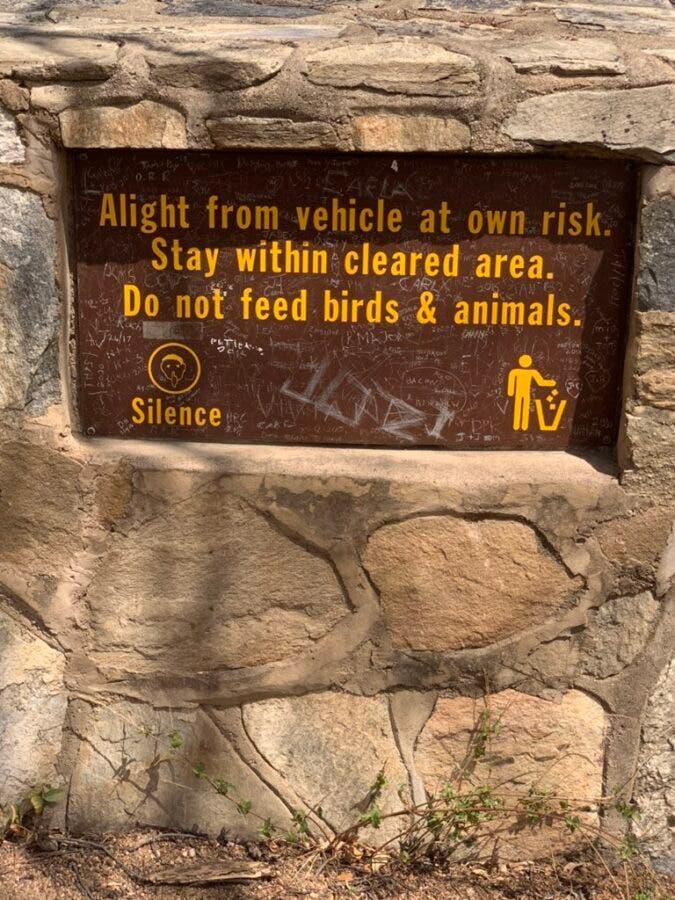 Kruger sign