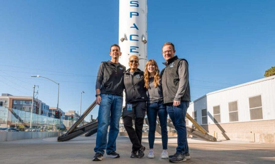 SpaceX Inspiration4 mission sent 4 people into orbit