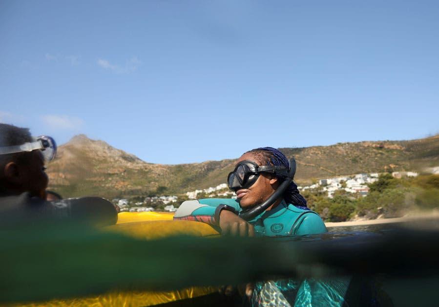 Zandi the Mermaid, Black Mermaid Foundation South Africa