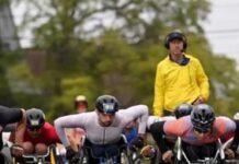 Ernst Van Dyk Wins Third Place in Boston Marathon Wheelchair Race