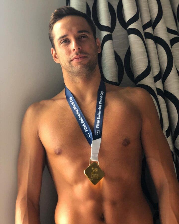 Chad le Clos Berlin gold medal World Cup