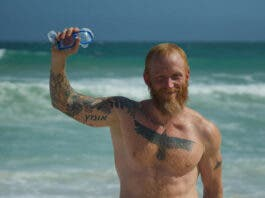 Dewet Du Toit Makes History with 'Shark Alley' Swim to Dyer Island for Great White Sharks