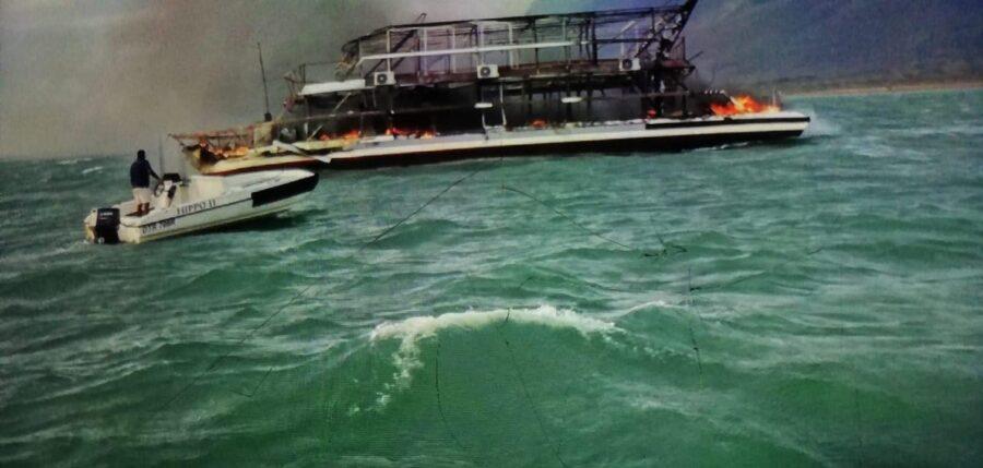 German Tourist's Sons Describe Anguish of Luxury Boat Fire Tragedy in KZN. Photo: Alex Mirschel
