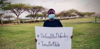 Call for justice for environmental defender - Fikile Ntshangase