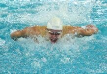 Matt Sates South African swimmer