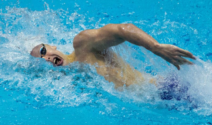 Matt Sates SA swimmer