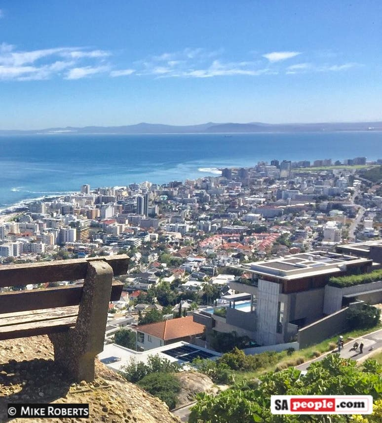 President Cyril Ramaphosa home Signal Hill Cape Town South Africa