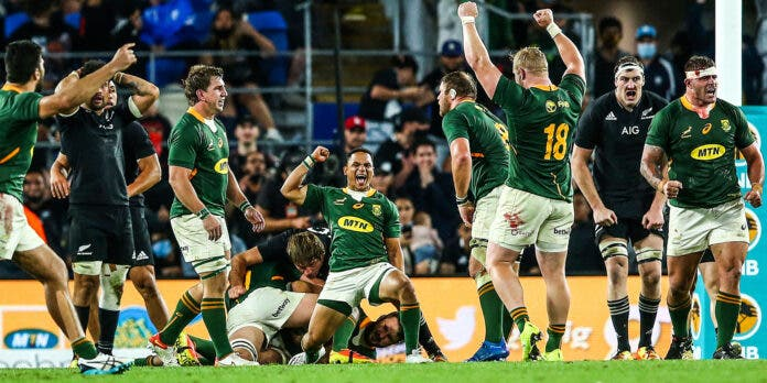 Springboks' Victory Against New Zealand in Last-Gasp Thriller