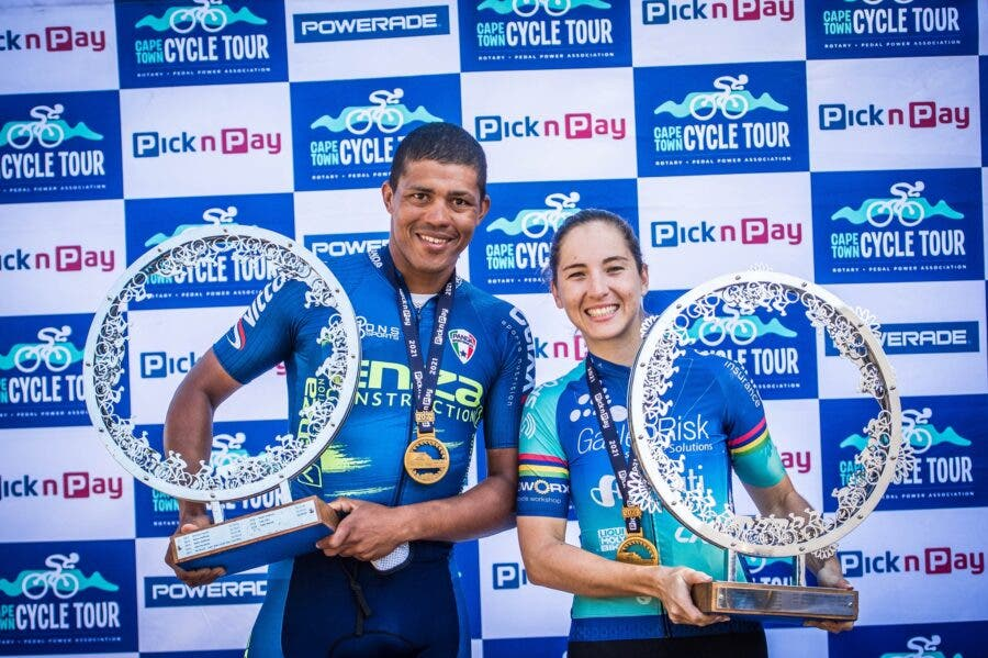 Winners Cape Town Cycle Tour
