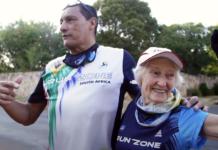 Deirdre Larkin, South Africa's 90-year-old legendary runner on Carte Blanche this Sunday.